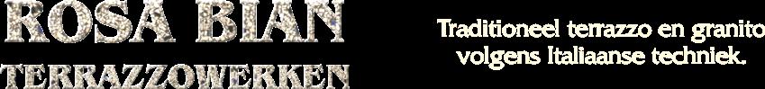 Rosa Bian – Terrazzowerken Logo